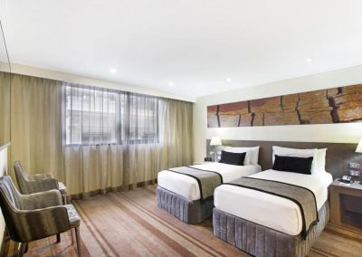 Rydges hotel Twin Room